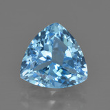 thumb image of 3.8ct Trillion Facet Swiss Blue Topaz (ID: 417902)