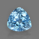 thumb image of 4.2ct Trillion Facet Swiss Blue Topaz (ID: 417904)