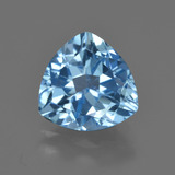 thumb image of 3.7ct Trillion Facet Swiss Blue Topaz (ID: 417939)