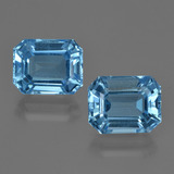 thumb image of 8.2ct Octagon Facet Swiss Blue Topaz (ID: 418490)