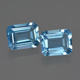 thumb image of 6.3ct Octagon Facet Swiss Blue Topaz (ID: 418831)