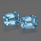 thumb image of 7.9ct Octagon Facet Swiss Blue Topaz (ID: 418836)