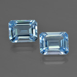 thumb image of 5.9ct Octagon Facet Swiss Blue Topaz (ID: 419188)
