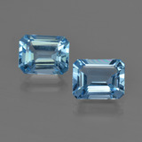 thumb image of 5.1ct Octagon Facet Swiss Blue Topaz (ID: 419190)