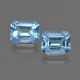 thumb image of 5.2ct Octagon Facet Swiss Blue Topaz (ID: 419194)