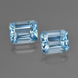 thumb image of 5.8ct Octagon Facet Swiss Blue Topaz (ID: 419197)