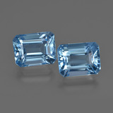 thumb image of 6ct Octagon Facet Swiss Blue Topaz (ID: 419271)