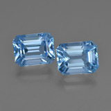 thumb image of 5.6ct Octagon Facet Swiss Blue Topaz (ID: 419273)