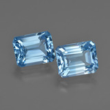 thumb image of 5.8ct Octagon Facet Swiss Blue Topaz (ID: 419279)