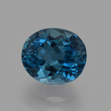 thumb image of 3.2ct Oval Facet London Blue Topaz (ID: 419312)