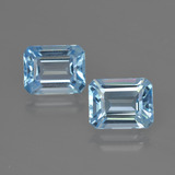 thumb image of 5.7ct Octagon Facet Swiss Blue Topaz (ID: 419325)