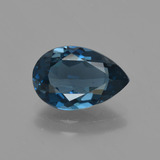 thumb image of 2.6ct Pear Facet London Blue Topaz (ID: 419381)