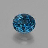 thumb image of 2.8ct Oval Facet London Blue Topaz (ID: 419395)