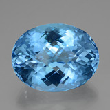 thumb image of 52.8ct Oval Checkerboard Swiss Blue Topaz (ID: 419461)