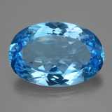 thumb image of 59.9ct Oval Facet Swiss Blue Topaz (ID: 419466)