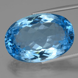 thumb image of 70.2ct Oval Facet Swiss Blue Topaz (ID: 419472)