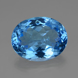 thumb image of 34.5ct Oval Facet Swiss Blue Topaz (ID: 419479)