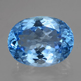 thumb image of 40.5ct Oval Facet Swiss Blue Topaz (ID: 419484)