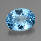 thumb image of 33.8ct Oval Checkerboard Swiss Blue Topaz (ID: 419647)