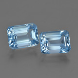 thumb image of 5ct Octagon Facet Swiss Blue Topaz (ID: 419795)