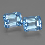 thumb image of 5.9ct Octagon Facet Swiss Blue Topaz (ID: 419797)