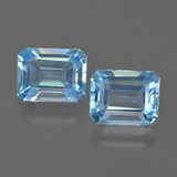 thumb image of 5.2ct Octagon Facet Swiss Blue Topaz (ID: 419800)