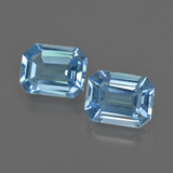 thumb image of 4.5ct Octagon Facet Swiss Blue Topaz (ID: 419803)