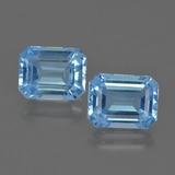 thumb image of 5.3ct Octagon Facet Swiss Blue Topaz (ID: 419804)