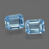 thumb image of 4.9ct Octagon Facet Swiss Blue Topaz (ID: 419805)