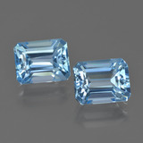 thumb image of 6.3ct Octagon Facet Swiss Blue Topaz (ID: 419810)