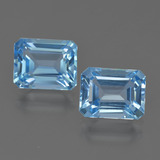 thumb image of 6ct Octagon Facet Swiss Blue Topaz (ID: 419811)