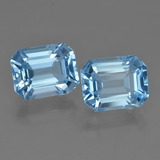 thumb image of 5.7ct Octagon Facet Swiss Blue Topaz (ID: 419844)
