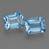 thumb image of 5.7ct Octagon Facet Swiss Blue Topaz (ID: 419846)