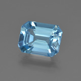 thumb image of 2.7ct Octagon Facet Swiss Blue Topaz (ID: 419998)