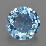 thumb image of 8.8ct Round Facet Swiss Blue Topaz (ID: 420191)