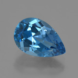 thumb image of 4ct Pear Facet London Blue Topaz (ID: 421091)