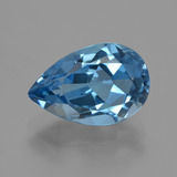 thumb image of 3.9ct Pear Facet London Blue Topaz (ID: 421092)
