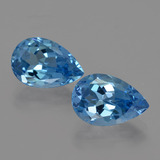 thumb image of 7.2ct Pear Facet London Blue Topaz (ID: 421098)