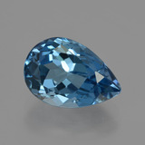 thumb image of 3.6ct Pear Facet London Blue Topaz (ID: 421111)