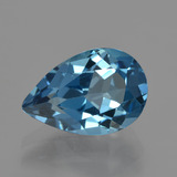 thumb image of 4ct Pear Facet London Blue Topaz (ID: 421114)