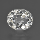 thumb image of 5.2ct Oval Facet Warm White Topaz (ID: 422010)