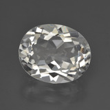 thumb image of 4.8ct Oval Facet Warm White Topaz (ID: 422019)