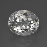 thumb image of 4.9ct Oval Facet White Topaz (ID: 422021)