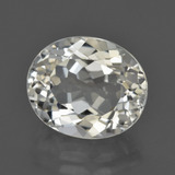 thumb image of 6.7ct Oval Facet White Topaz (ID: 422038)