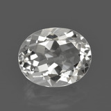 thumb image of 4.9ct Oval Facet White Topaz (ID: 422065)