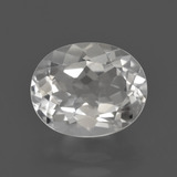 thumb image of 3.5ct Oval Facet White Topaz (ID: 422069)