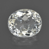 thumb image of 6.6ct Oval Facet White Topaz (ID: 422090)