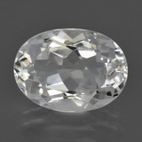 thumb image of 7.4ct Oval Facet White Topaz (ID: 422092)