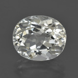 thumb image of 6.8ct Oval Facet White Topaz (ID: 422093)