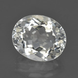 thumb image of 6.8ct Oval Facet White Topaz (ID: 422094)